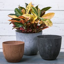 Fiji Round Planters, Set of Three