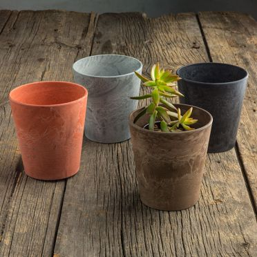 Cache Pot, 5-Inch, Taupe