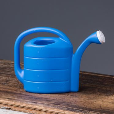 2-Gallon Deluxe Watering Can, Blue