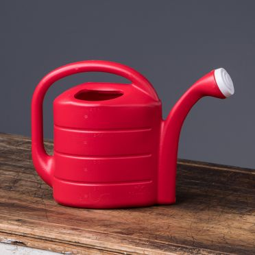 2-Gallon Deluxe Watering Can, Red