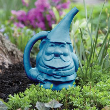 Gnome Watering Can, Blue